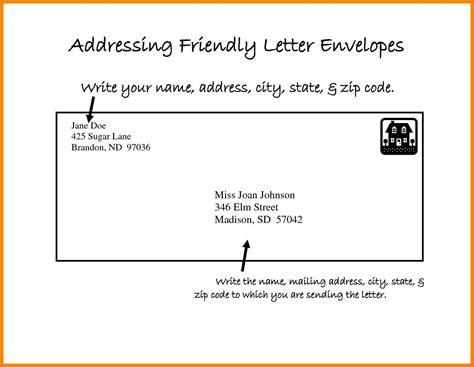 8 envelope mail format addressing letter