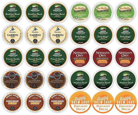 To be clear, it is difficult but not impossible. 30-count TOP BRAND DECAF COFFEE Variety Sampler Pack, Single-Serve Cups for Keurig-Compatible ...
