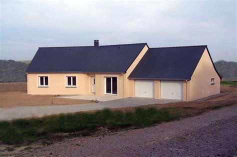 plan maison contemporaine plain pied 4 chambres maison plain pied garage
