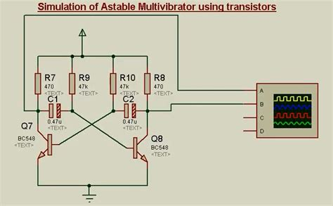 Transistor Circuits Proteus Switch Bistable