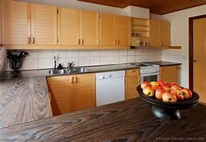 Wood Tile Kitchen Countertops Best 25 Tile Kitchen