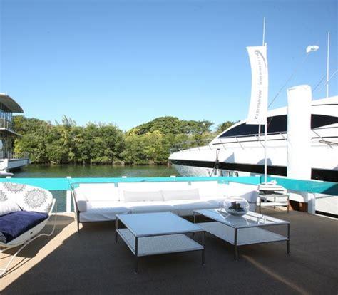 Miami Boat Show Vip Lounge by Overmarine Interior Design By Fendi Yacht E Vela