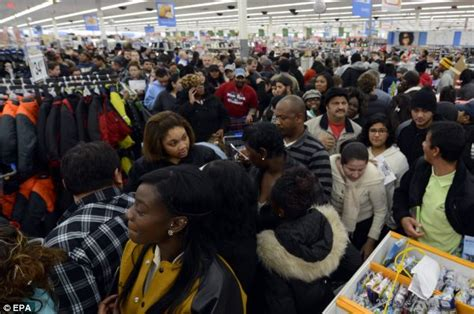 black friday shoppers arrested in virginia after 35 is 39 sliced to the bone 39 daily mail