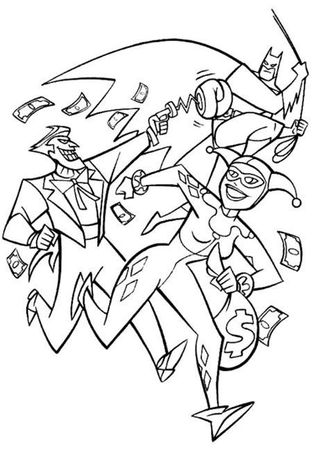 harley quinn printable coloring pages  kids disney