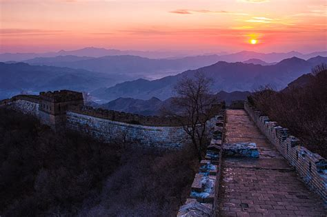 Great Wall Of China World Heritage Site In China