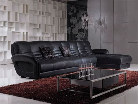 black leather couches masculine living room decoration for guest make