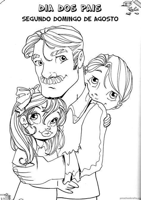 fathers day printable coloring page  crafter files