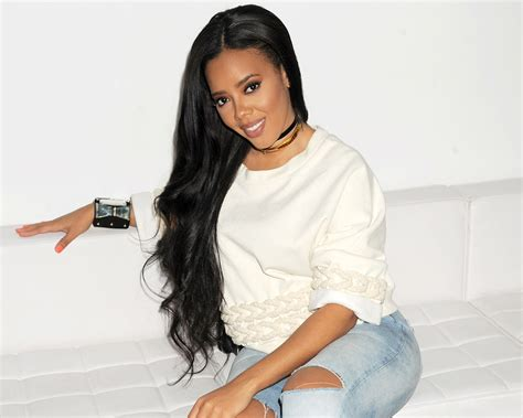 Angela Simmons Announces She's Pregnant After Engagement