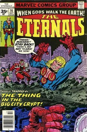 Eternals 16 B, Oct 1977 Comic Book by Marvel