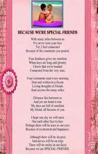 Special Friend Poems