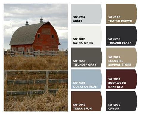 historic farm color palette inspiration for exterior home