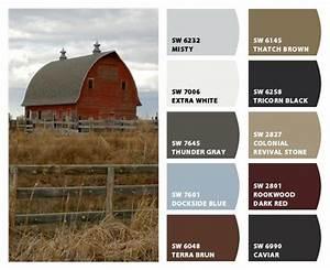 Historic Farm Color Palette- Inspiration for exterior home