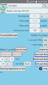 Diabetes Carb Counter For Type 1 Diabetics Apps On
