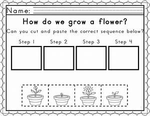 Worksheets for Sequencing in Spring | Sequencing ...