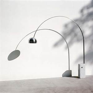 flos arco floor lamp parts ciabizcom With arco floor lamp replacement shade