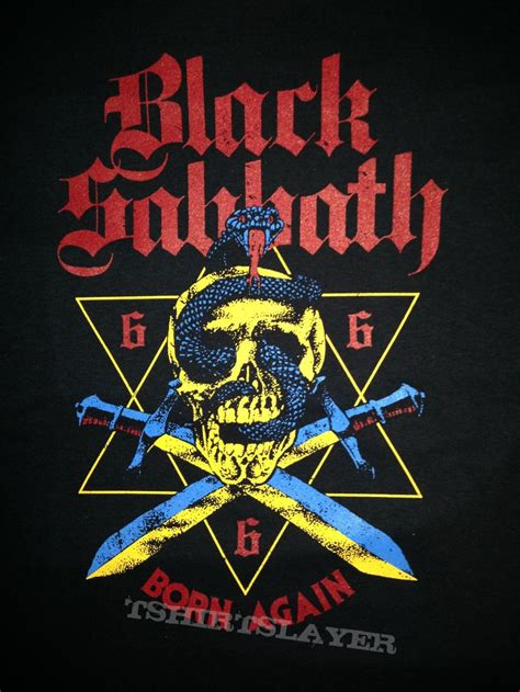 tshirt born again jackderipper168 39 s black sabbath black sabbath born