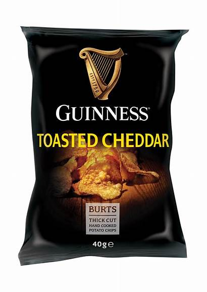 Chips Guinness Cheddar Potato Toasted Crisps Box