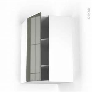 Meuble Haut Cuisine Pas Cher : meuble haut cuisine vitree pas cher ~ Farleysfitness.com Idées de Décoration