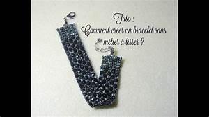 Comment Faire Un Bracelet En Perle : tuto bracelet sans metier a tisser youtube ~ Melissatoandfro.com Idées de Décoration