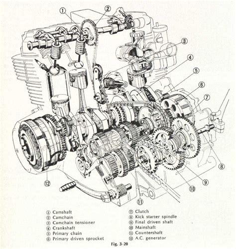 Honda Engine Cutaway Silodrome