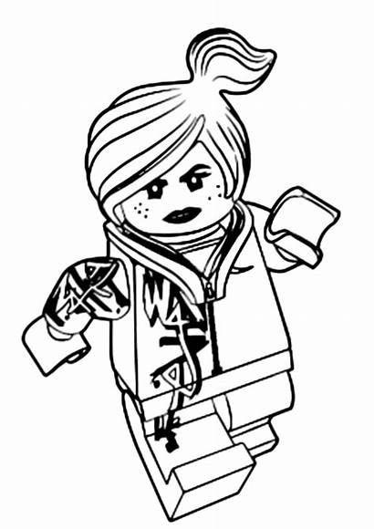 Lego Coloring Movie Lucy Disegni Wildstyle Colorare