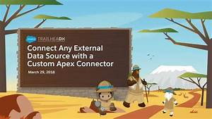 Connect Any External Data Source With The Custom Apex