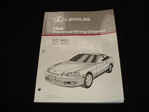Fs  1998 Sc300    Sc400 Electrical Wiring Diagram Manual Oem - Clublexus