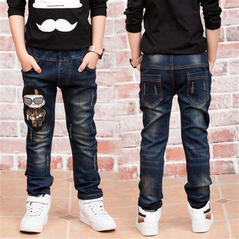 New Year, Boy's Jeans For Wear Fashionable Style And High