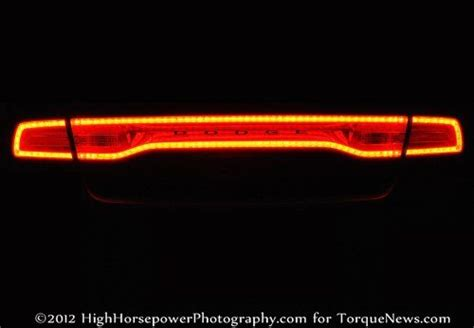 taillight    dodge charger srt lit