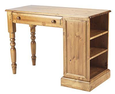small pine computer desk desk small with bookcase