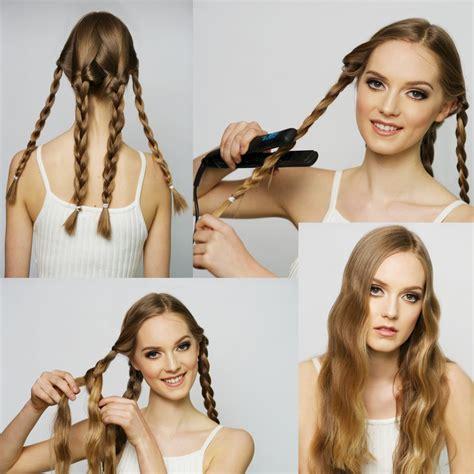 lockenstab mit glätteisen locken ohne lockenstab 10 ideen mit anleitungen zum haarstylen