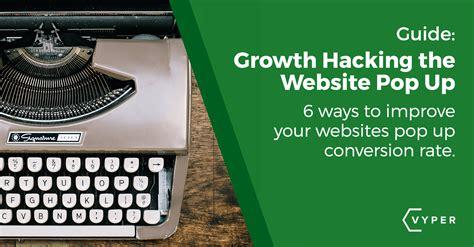 Ways Improve Your Website Popup Conversion Rate Vyper