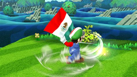 mexican mario super smash bros  wii  skins mario