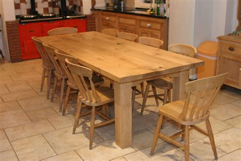 farmhouse kitchen tables the creation process homes