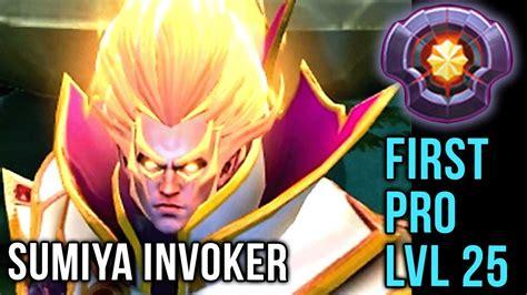 sumiya pro player lvl 25 invoker dota plus epic gameplay compilation dota 2 youtube