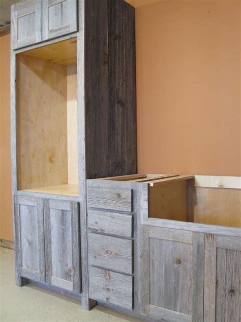 weathered gray barn wood kitchen barn wood furniture