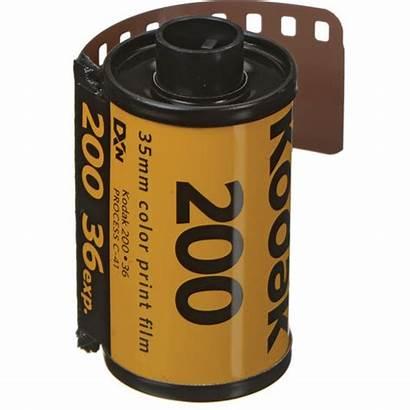 Kodak 200 Film 35mm Roll Negative Gold