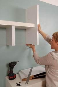 Etagere A Fixer Au Mur : do it yourself une tag re customis e c t ~ Teatrodelosmanantiales.com Idées de Décoration