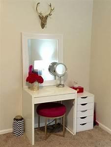 25 Bsta Iderna Om Ikea Makeup Vanity P Pinterest