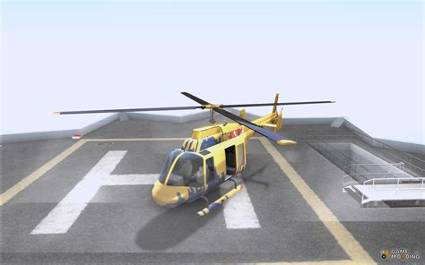 The Sightseeing Helicopter Out Of Gta 4 For Gta San Andreas