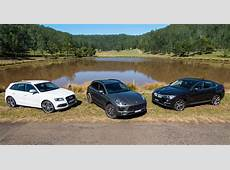 Audi SQ5 v BMW X4 30d v Porsche Macan S Diesel