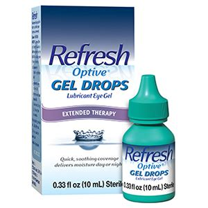 Amazon.com: Refresh Optive Gel Drops Lubricant Eye Gel 0
