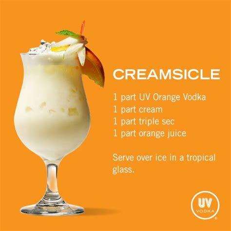 creamsicle drink creamsicle food and drinks pinterest