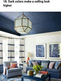 what paint colors make a low ceiling look higher how to
