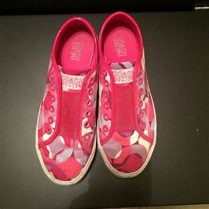 75% off Coach Shoes - Pink coach sneakers. from Tara's ...