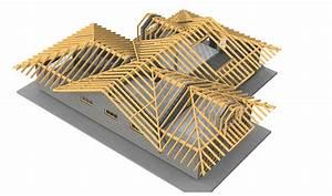 Charpente Traditionnelle Bois En Kit : solutions constructives bois merotto charpentes bois ~ Premium-room.com Idées de Décoration