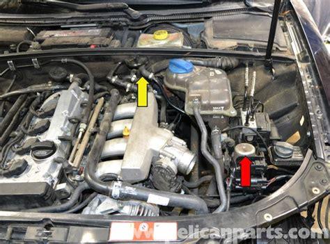 audi   brake booster vacuum pump replacement