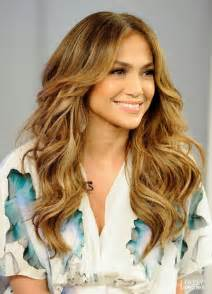 Jennifer Lopez Layered Long Hair