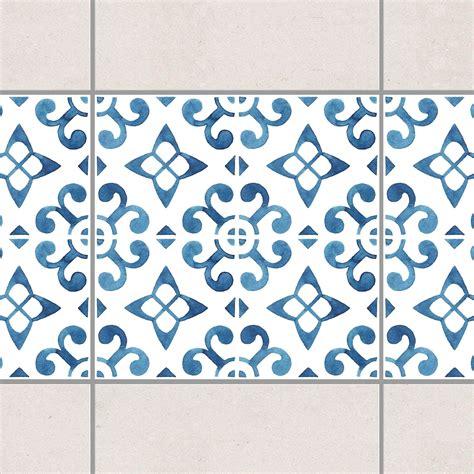 Fliesen Bordüre Weiß by Fliesen Bord 252 Re Blau Wei 223 Muster Serie No 5 1 1 Quadrat