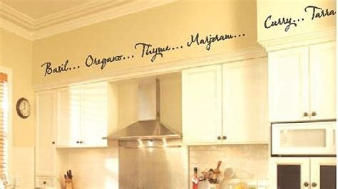 kitchen borders ideas kitchen words spices wall border soffit border vinyl wall decor decal item kd115 1 set